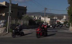 צילומי אופנועים בתנועה